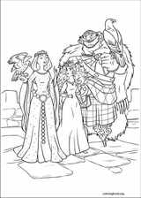 Brave coloring page (063)