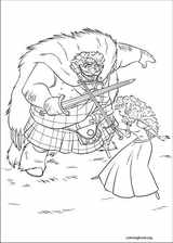 Brave coloring page (064)