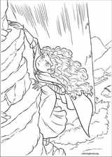 Brave coloring page (067)