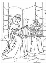 Brave coloring page (068)