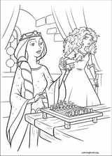Brave coloring page (072)