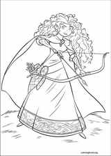 Brave coloring page (076)