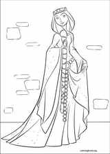 Brave coloring page (077)