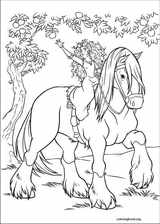 Brave coloring page (078)