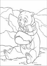 Brother Bear 2 coloring page (003)