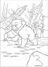 Brother Bear 2 coloring page (005)