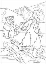 Brother Bear 2 coloring page (009)