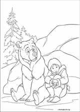 Brother Bear 2 coloring page (010)