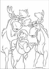 Brother Bear 2 coloring page (015)