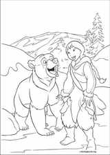 Brother Bear 2 coloring page (016)