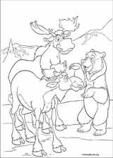 Brother Bear 2 coloring page (028)