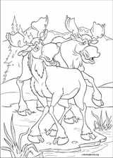Brother Bear 2 coloring page (030)