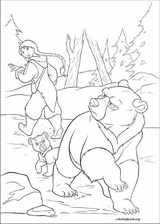 Brother Bear 2 coloring page (031)