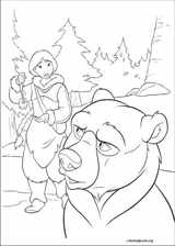 Brother Bear 2 coloring page (032)
