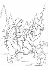 Brother Bear 2 coloring page (033)