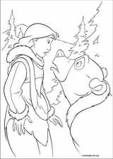 Brother Bear 2 coloring page (034)