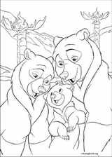 Brother Bear 2 coloring page (041)