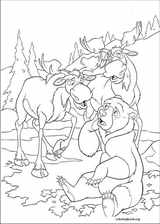 Brother Bear 2 coloring page (052)