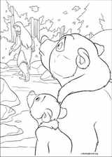 Brother Bear 2 coloring page (054)