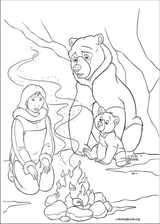 Brother Bear 2 coloring page (055)