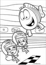 Bubble Guppies coloring page (006)