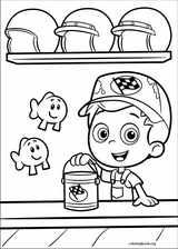Bubble Guppies coloring page (038)