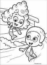 Bubble Guppies coloring page (043)