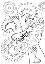 Carnival coloring page (001)