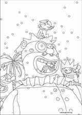 Carnival coloring page (011)