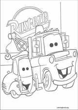 Cars coloring page (011)