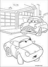 Cars coloring page (029)