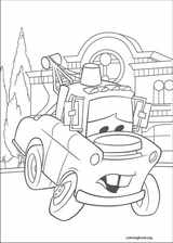 Cars coloring page (030)