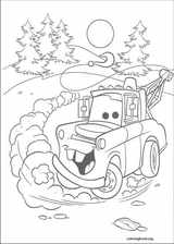 Cars coloring page (066)
