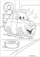 Cars coloring page (076)