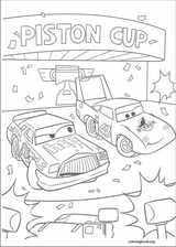 Cars coloring page (092)