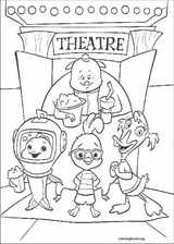 Chicken Little coloring page (020)