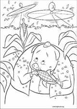 Chicken Little coloring page (046)