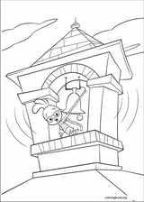Chicken Little coloring page (085)