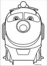Chuggington coloring pages @ ColoringBook.org