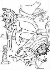 Cloudy With A Chance Of Meatballs coloring page (006)