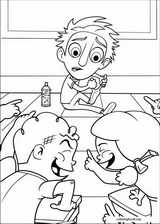 Cloudy With A Chance Of Meatballs coloring page (013)