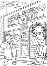 Cloudy With A Chance Of Meatballs coloring page (018)