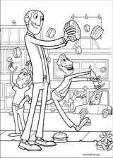 Cloudy With A Chance Of Meatballs coloring page (021)