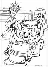 Cloudy With A Chance Of Meatballs coloring page (028)
