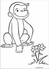 Curious George coloring page (020)