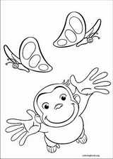 Curious George coloring page (036)