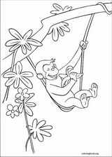 Curious George coloring page (039)