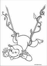 Curious George coloring page (047)
