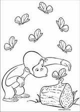 Curious George coloring page (056)