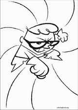 Dexter's Laboratory coloring page (004)